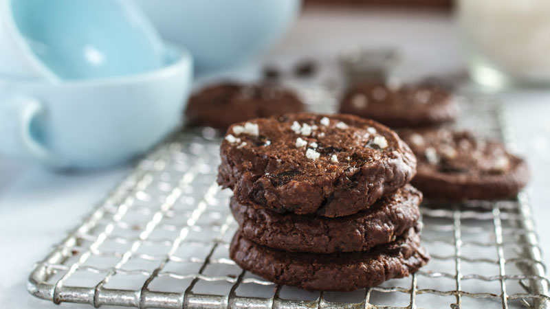 <p>The combination of bittersweet chocolate and Prune Amazins™, accented by flecks of sea salt, makes these sophisticated buttery cookies truly addictive…</p>